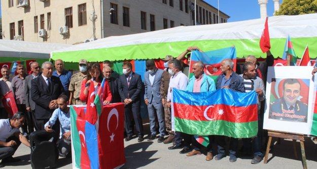 27 EYLÜL  AZERBAYCAN ŞEHİTLERİ IĞDIR'DA ANILDI