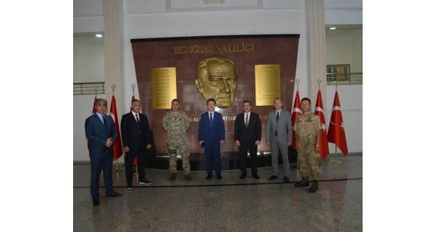 Belediye Başkan V. Enver Ünlü'ye Hayırlı Olsun Ziyareti