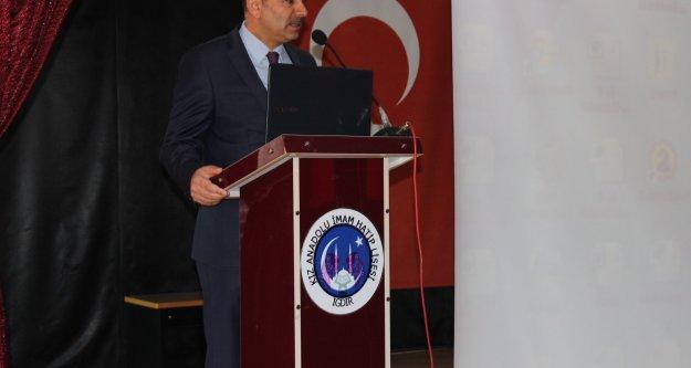 Din Kültürü Ve Ahlak Bilgisi Öğretmenlerine Konferans