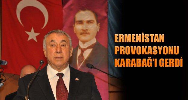 Ermenistan provokasyonu Karabağ'ı gerdi