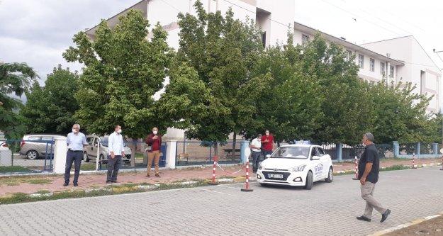 Iğdır#039;da maskeli MTSK Sınavı Yapıldı