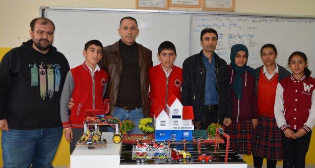 Iğdır Şehit Öğretmen Şevki Akgün Ortaokulu Tübitak  Yarışmasında Türkiye Ücüncüsü Oldu