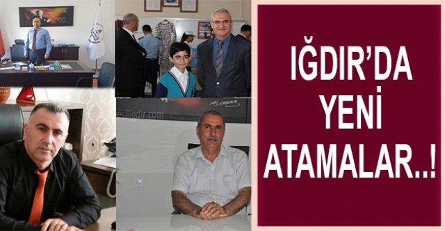 IĞDIR'DA YENİ ATAMALAR..!