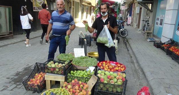Iğdır'ın yerli üzümü piyasada