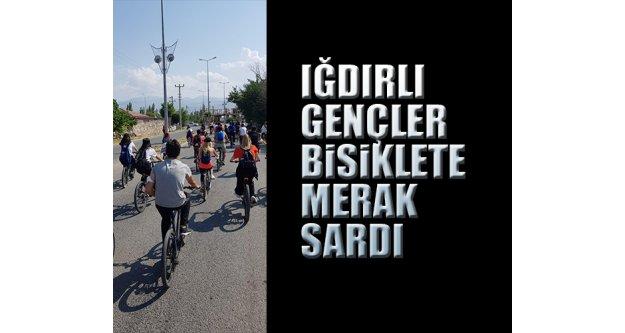 Iğdırlı Gençler Bisiklete Merak Sardı