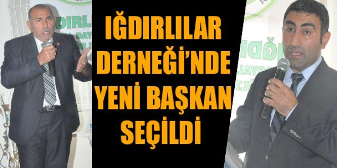 Iğdırlılar Derneği'nde Yeni başkan seçildi !
