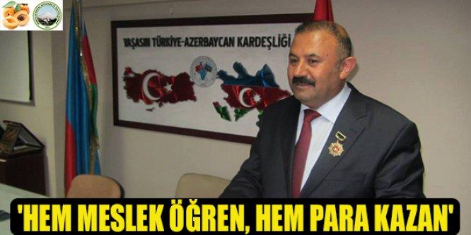 """'İŞSİZ KİMSE KALMASIN"""""""