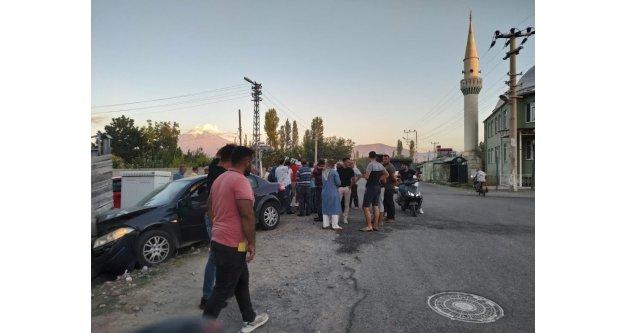 Mahalle halkı trafik kazasından bıktı
