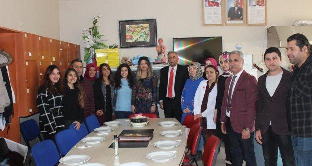 Milli Eğitim Müdürü 8 Mart Dünya Kadınlar Gününü Öğretmenlerle Kutladı