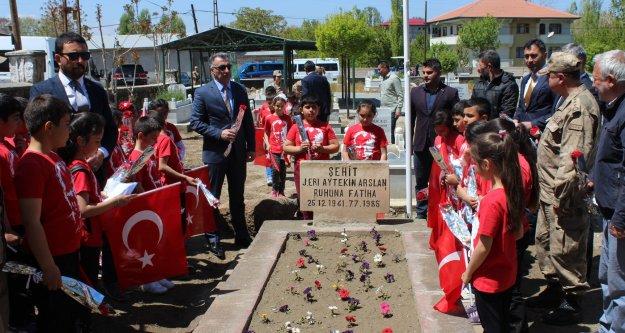 Şehit Er Aytekin Arslan Mezarı Başında Anıldı