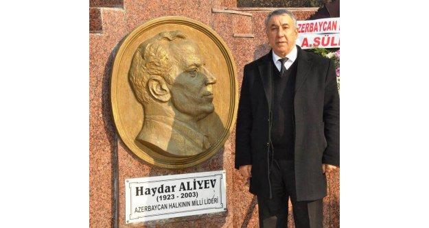 Serdar Ünsal'dan Haydar Aliyev'in 98. doğum günü mesajı