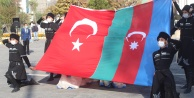 IĞDIR DA CUMHURİYET BAYRAMINDA AZERBAYCAN#039;IN YANINDAYIZ MESAJI