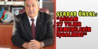 """Serdar Ünsal: """"Ağdam 27 yıldır Ermenilerin işgalinde#039;#039;"""