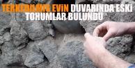 Terkedilmiş Evin Duvarında Eski Tohumlar Bulundu