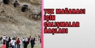 Tuz Mağarası İçin Çalışmalar Başladı
