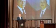 VASIF TALİPOV, ÜNİVERİSTEYİ YÜKSEK PUANLA KAZANANLARI ÖDÜLLENDİRDİ