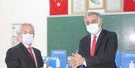 1000 Okul Projesi kapsamında Iğdır'da dezenfektan ve kolonya üretiliyor.