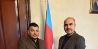 AZERBAYCAN DİASPORA BAKANLIĞINDAN ÖZKAN AYDIN'A TEŞEKKÜR BELGESİ
