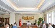 Basından Vali Sarıibrahim'e hoşgeldin ziyareti