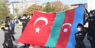 IĞDIR DA CUMHURİYET BAYRAMINDA AZERBAYCAN'IN YANINDAYIZ MESAJI