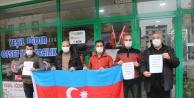 ŞEHİT AZERBAYCAN ASKERLERİ IĞDIR'DA ANILDI