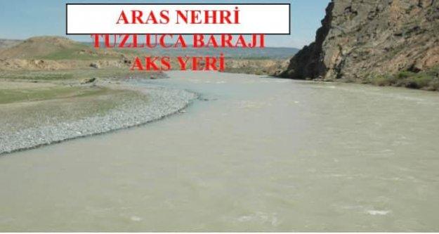 Tuzluca Barajı dosyası Cumhurbaşkanlığı bütçesine gönderildi.
