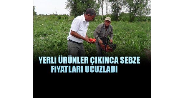 Yerli Ürünler Çıkınca Sebze Fiyatları Ucuzladı.