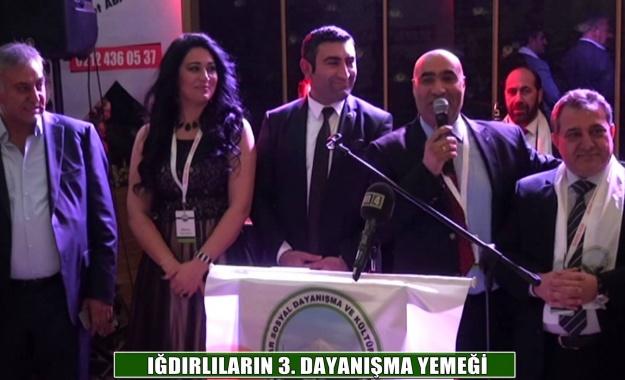 İstanbul'da ki Iğdırlılar salona sığmadı!
