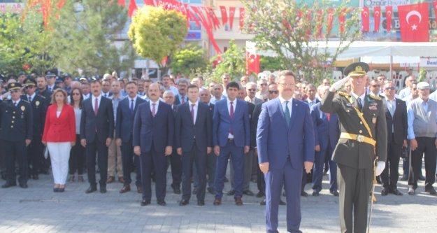 Iğdır'da 30 Ağustos Zafer Bayramı kutlandı