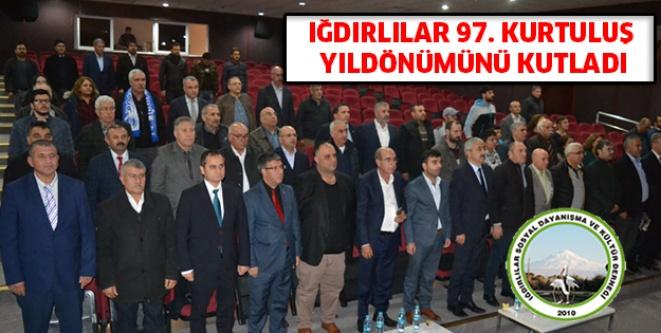 Iğdırlılar 97.kurtuluş yıldönümünü kutladı