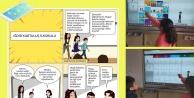 Kurtuluş ilkokulundan   Medya Okuryazarlığı Karikatür Çalışması