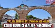 Tuzluca Belediye Başkanı Gültekin'den şok karar!!!